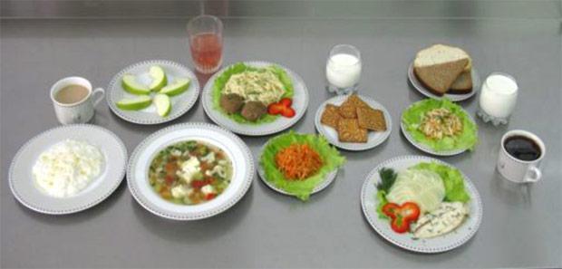 Примерный рацион питания для детей 1-3 лет