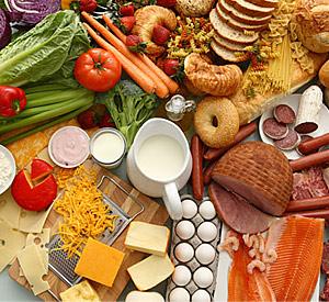 Стоимость продуктов питания в мае