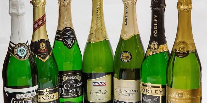 Цены на продукты и шампанское в декабре