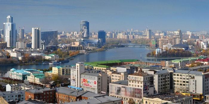 Цены в Екатеринбурге