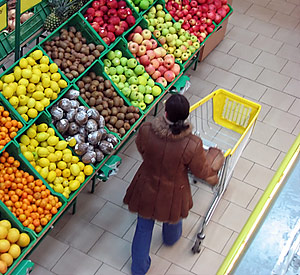 Цены на продукты в апреле