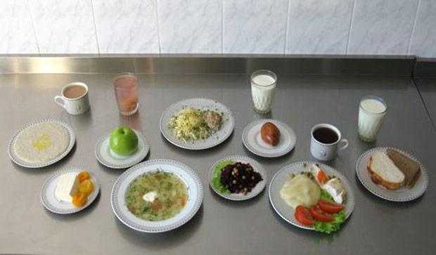 рацион питания ребенка 4-6 лет