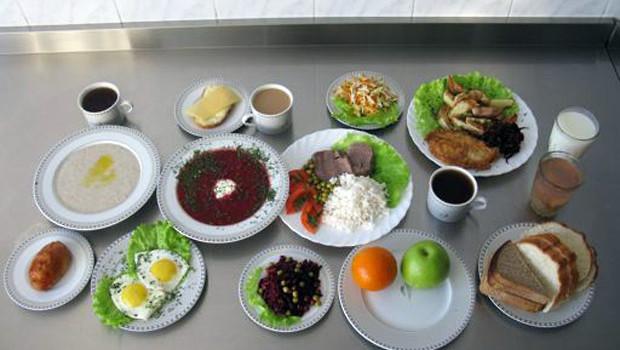 Примерный дневной рацион питания для мужчин от 16 до 59 лет